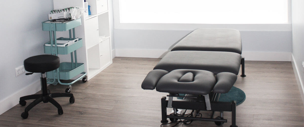 Sala de consulta de Hegoa Fisioterapia