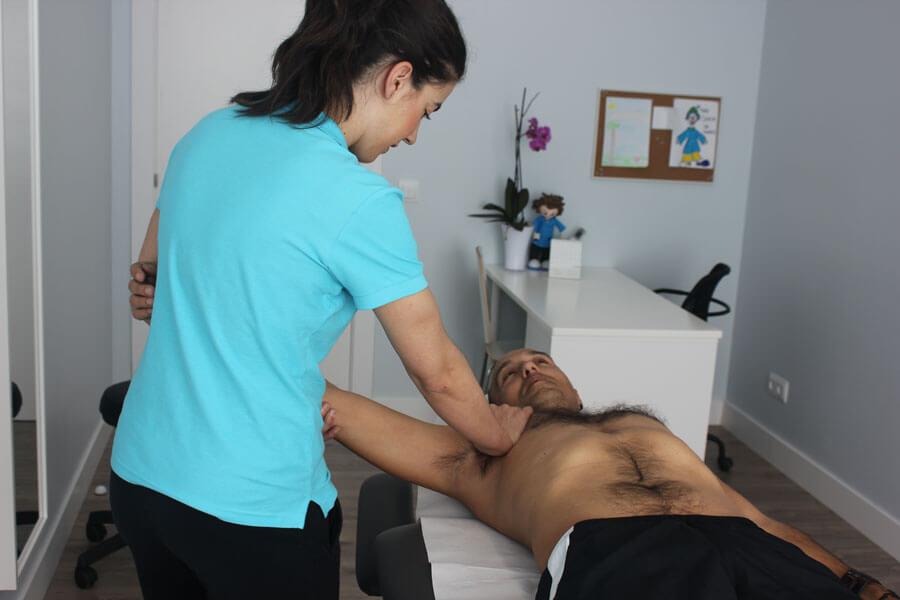 técnica muscular del pectoral mayor